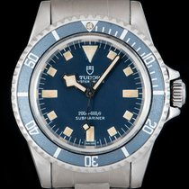 Tudor Steel Automatic Blue 40mm pre-owned Submariner