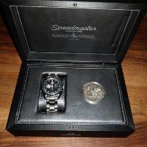 Omega 311.30.42.30.01.002 Aço 2009 Speedmaster Professional Moonwatch 42mm usado