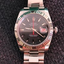 Rolex Datejust Turn-O-Graph Acier 36mm Noir Sans chiffres France, hyéres