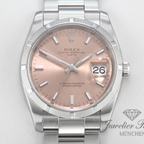 Rolex 115210 Steel Oyster Perpetual Date 34mm pre-owned