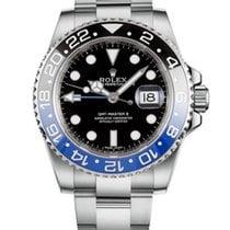Rolex GMT-Master II Steel 40mm Black No numerals United States of America, Iowa, Des Moines