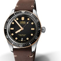 Oris Bronze Automatic Black 40mm new Divers Sixty Five