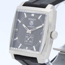 TAG Heuer Monaco Calibre 6 nuevo Automático Reloj con estuche original WW2110