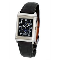 Jaeger-LeCoultre White gold Manual winding Black Arabic numerals pre-owned Reverso (submodel)