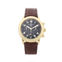 Blancpain Léman Fly-Back Yellow gold 38mm Black Arabic numerals United States of America, Pennsylvania, Bala Cynwyd