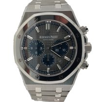 Audemars Piguet Titanium Automatic Grey No numerals 41mm new Royal Oak Chronograph