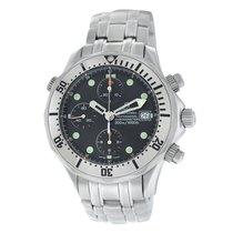 Omega Seamaster Diver 300 M Steel 41mm Black Roman numerals United States of America, New York, New York