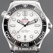 Omega Seamaster Diver 300 M Steel 42mm White