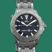 Omega Or blanc Remontage automatique 40mm occasion Seamaster Diver 300 M