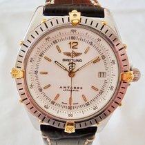 Breitling Antares Stål 39mm Hvit Ingen tall