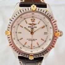 Breitling Antares Steel 39mm White No numerals