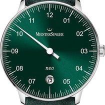Meistersinger Neo NE909N Einzeigeruhr Klassisch schlicht