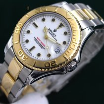 Rolex Yacht-Master 168623 Very good Gold/Steel 34mm Automatic