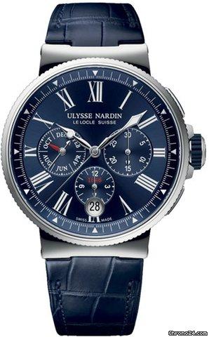 Ulysse Nardin Marine Chronograph 1533-150/43 2021 neu