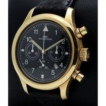 IWC 3741 Κίτρινο χρυσό Pilot Chronograph 36mm