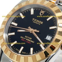 Tudor CLASSIC DATE 38mm Gold Automatic Stainless Steel 21013