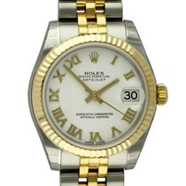 Rolex : Datejust Midsize 31MM :  178273 :  18k Gold &...