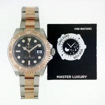 勞力士 116621 Yacht-Master Black Dial Oys Bracelet RG/SS
