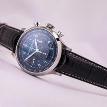 Baume & Mercier Capeland Automatic Chronograph Blue Dial Black...
