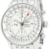 브라이틀링 (Breitling) Navitimer World Steel Automatic Mens Watch...