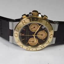 Bulgari - Diagono 18K Gold/Steel Chronograph - CH 35 SG - Men...