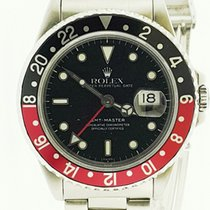 "Rolex GMT-Master II Black-Red ""Coke"""