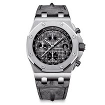 Audemars Piguet Royal Oak Offshore Chronograph Steel Grey Dial...