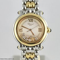 Chopard Happy Sport 33mm 9 Brillanten 5 Safire Referenz 27/8