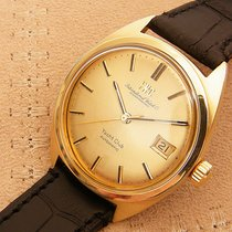 萬國 vintage mens 14K Gold/Steel Yacht Club automatic watch 1970