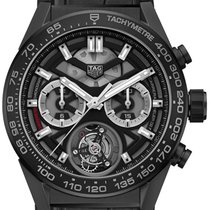 TAG Heuer Carrera Heuer-02T Ceramic 45mm Transparent United States of America, New York, Airmont