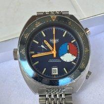 Heuer 42,50mm Automatico 1970 usato Blu