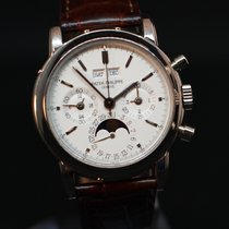 Patek Philippe Perpetual Calendar Chronograph new 1993 Manual winding Chronograph Watch with original box and original papers 3970 EG Transitional Series