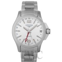 Longines L36874766 Steel Conquest new