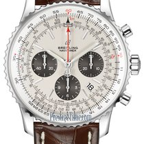 Breitling Steel Automatic Silver 43mm new Navitimer 1 B01 Chronograph 43