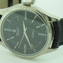 Rolex Cellini Time White gold 39mm Black No numerals United States of America, New York, Greenvale