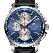 Maurice Lacroix Pontos Chronographe Steel 43mm Blue