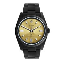 Rolex Oyster Perpetual 36 Aço 36mm Ouro