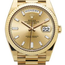 Rolex Day-Date 40 pre-owned 40mm Date Yellow gold