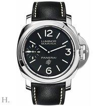 Panerai Luminor Marina neu 2019 Handaufzug Uhr mit Original-Box und Original-Papieren PAM00776