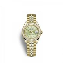 Rolex 279138RBR0004 Or jaune Lady-Datejust 28mm nouveau