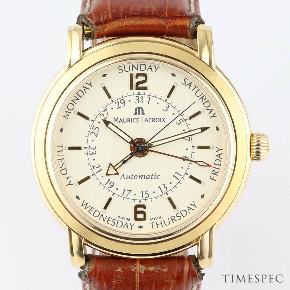 fc7aa08647 Maurice Lacroix Masterpiece Men's 18K Yellow Gold Automatic... for S$ 7,916  for sale from a Seller on Chrono24