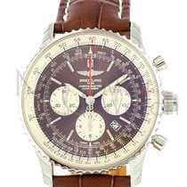 Breitling Navitimer Rattrapante Steel 45mm Brown