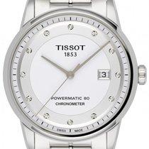 Tissot Luxury Automatic Stahl 41mm Weiß