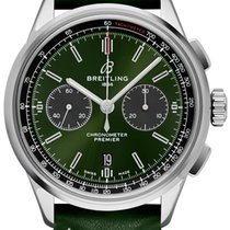 Breitling for Bentley Steel 42mm Green No numerals