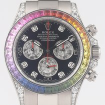 Rolex 116599 RBOW White gold Daytona 40mm pre-owned