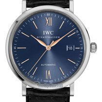 IWC Portofino Automatic Steel 40mm Blue United States of America, New York, Airmont