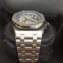 Audemars Piguet Royal Oak Chronograph Acier 41mm Bleu Arabes