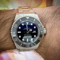 Rolex Sea-Dweller Deepsea Acier 44mm Bleu Sans chiffres France, Nice