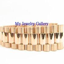 勞力士 (Rolex) Aftermarket 18k Rose Gold Bracelet Band for Mens...