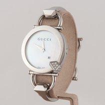 Gucci 35mm Quartz nieuw Parelmoer